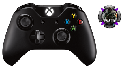 Ghosts compatible xbox one multi mod controller