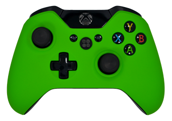 Xbox One Green Controller The gallery for -->...