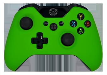 xbox one controller green - photo #38