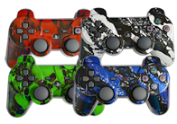 Hydro Dipped PS3 Modded Controllers