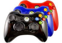Glossy Xbox 360 Modded Controllers