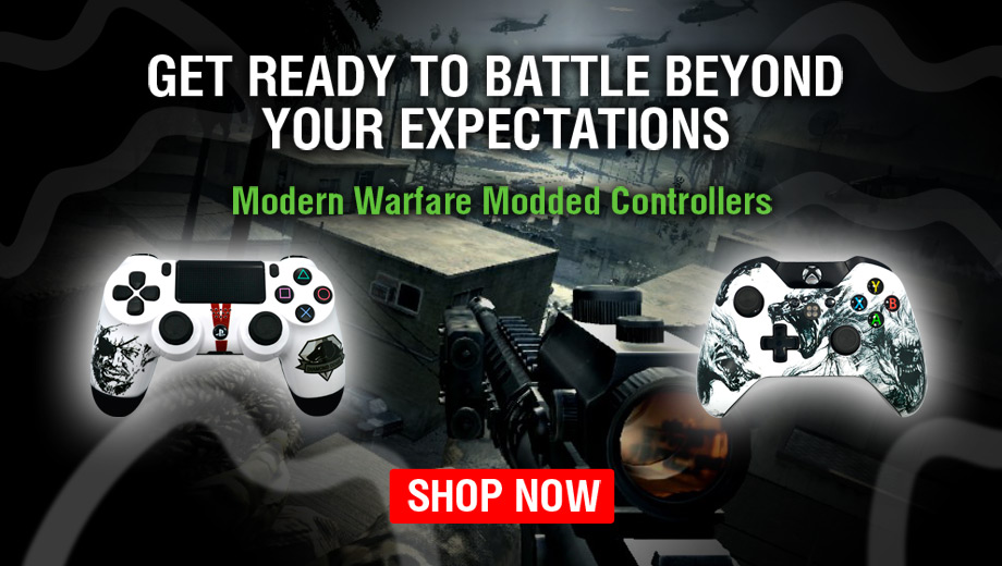 Modded Controllers For COD 4 Modern Warfare