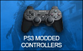 PS3 Rapid Fire Modded Controllers