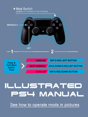 Illustrated PS4 manual