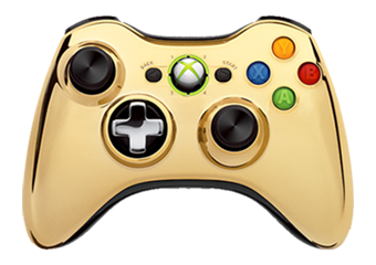 Gold Xbox 360 SE By Microsoft