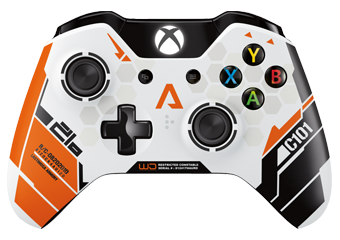Titanfall Xbox One Modded Rapid Fire Controller