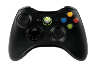 Standard Black Slim Edition Xbox 360
