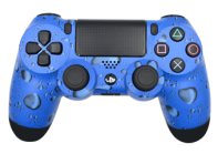 Blue Drops PS4 Modded Rapid Fire Controller