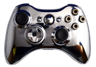 Bullet Buttons Chrome Xbox 360