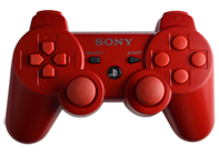 PS3 Red with Red Buttons