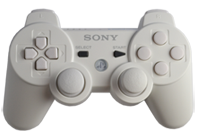 PS3 White with White Buttons