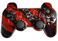 PS3 Red Splatter