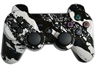 PS3 White Splatter