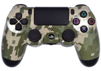 Digital Camo PS4 Modded Rapid Fire Controller