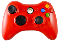 Glossy Red Xbox 360
