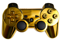 Bullet Buttons Gold PS3 Modded Controller