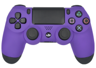 Matte Purple PS4 Modded Controller