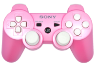 PS3 Pink N White