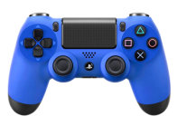 Blue PS4 Modded Rapid Fire Controller