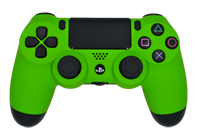 Matte Lime Green PS4 Modded Rapid Fire Controller