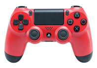 Matte Red PS4 Modded Rapid Fire Controller