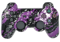 PS3 Purple Splatter