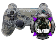 PS3 Urban Camo Ghost Compatible Multi-Mod Controller