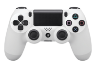 White PS4 Modded Rapid Fire Controller