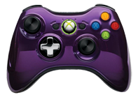 Purple Chrome Xbox 360 by Microsoft