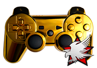 PS3 Gold MegaMod Controller