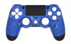 Hydro Dipped - Blue Drops - Controller For PS4