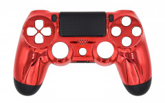 Chrome - Chrome Red - Controller For PS4