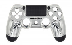 Chrome - Chrome Silver - Controller For PS4