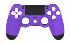 Solid Colors - Matte Purple - Controller For PS4