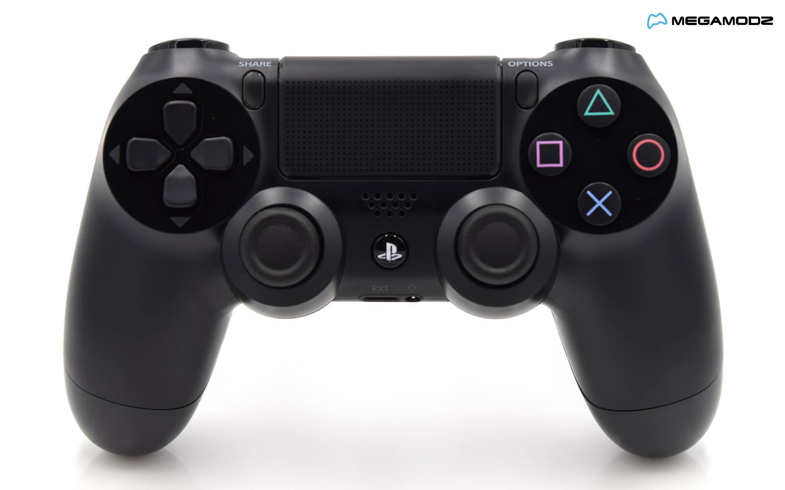 MegaMod Pro PS4 Black Custom Controller | Megamodzplanet.com