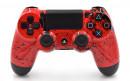 PS4 Pro Red Splash Custom Modded Controller Small