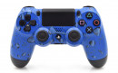 PS4 Blue Drops Custom Modded Controller Small