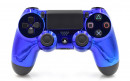 PS4 Pro Chrome Blue Custom Modded Controller Small