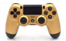 PS4 Matte Gold Custom Modded Controller Small