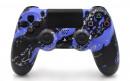 PS4 Pro Purple Splatter Custom Modded Controller Small