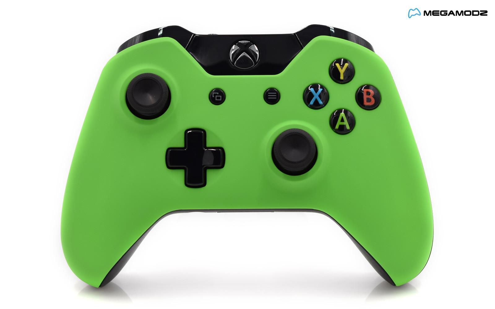 xbox one controller green - photo #1
