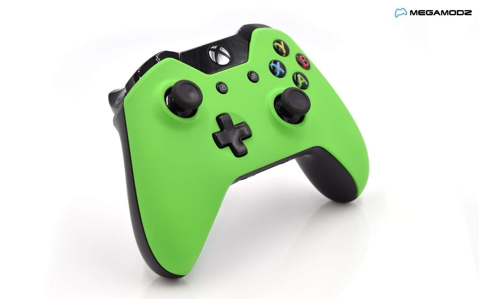 modded xbox one rapid fire controller lime green