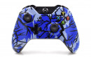 Xbox One Blue Predator Custom Modded Controller Small