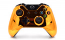 Xbox One Chrome Orange Custom Modded Controller Small