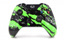 Xbox One Green Splatter Custom Modded Controller Small