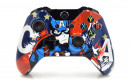 Xbox One Captain America Custom Modded Controller Small