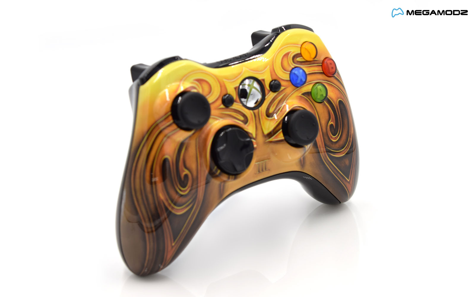 All Xbox 360 Controllers : Modded xbox rapid fire controller fable iii special