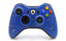 Xbox 360 Blue Drops Custom Modded Controller Small