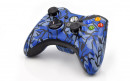 Xbox 360 Blue Predator Custom Modded Controller Small