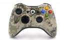 Xbox 360 Army Camo Custom Modded Controller Small